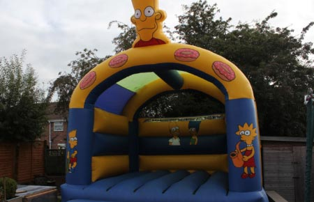Bart Simpson Bouncy Castle
