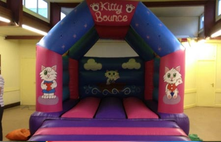 Kitty Kitty bouncy castle