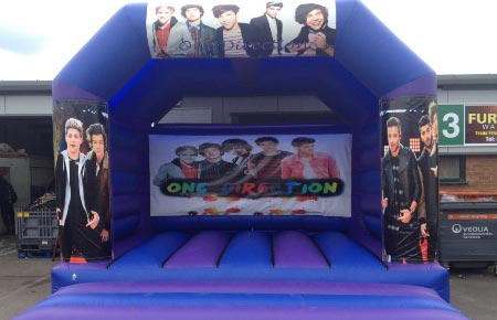 One Direction Bouncy Castle