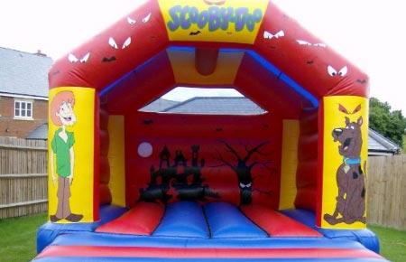 Scooby-Doo bouncy castle
